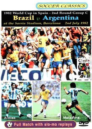 Rent World Cup 1982: Brazil V Argentina Online DVD Rental