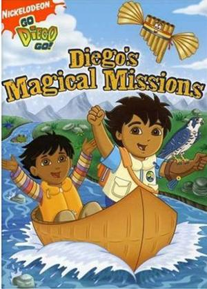 Rent Go Diego Go: Magical Missions Online DVD Rental