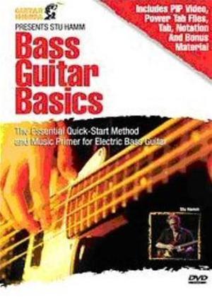Rent Bass Guitar Basics Online DVD Rental