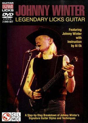 Rent Johnny Winter: Legendary Licks Guitar Online DVD & Blu-ray Rental