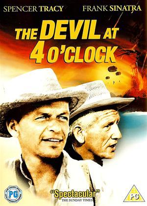 Rent The Devil at Four O'Clock Online DVD Rental