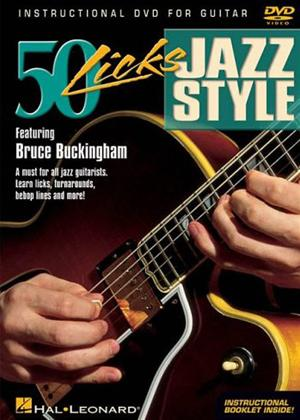 Rent 50 Licks: Jazz Style Guitar Online DVD Rental