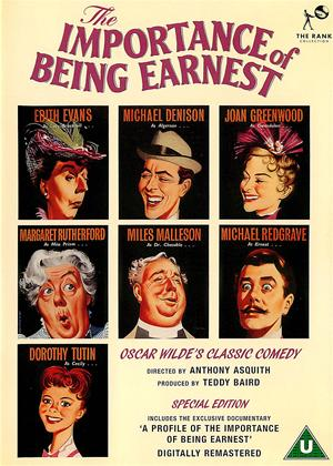 Rent The Importance of Being Earnest Online DVD Rental