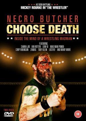 Rent Necro Butcher: Choose Death: Vol.1 Online DVD Rental