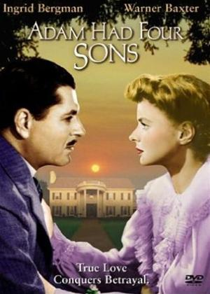 Rent Adam Had Four Sons Online DVD Rental