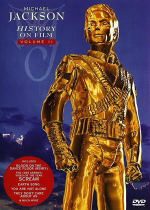 Rent Michael Jackson: History on Film: Vol.2 Online DVD Rental