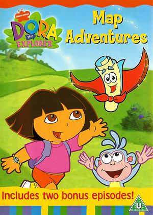 Rent Dora the Explorer: Dora's Map Adventure Online DVD Rental