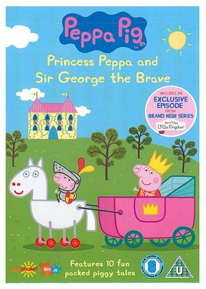 Rent Peppa Pig: Princess Peppa and Sir George the Brave Online DVD Rental