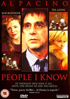 Rent People I Know Online DVD & Blu-ray Rental