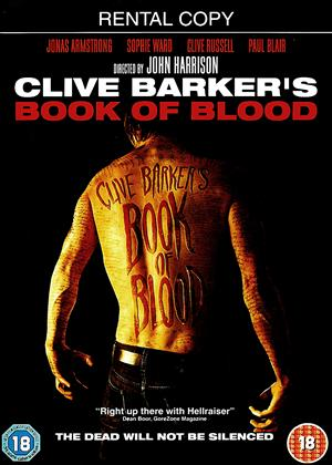 Rent Clive Barker's: Book of Blood Online DVD Rental