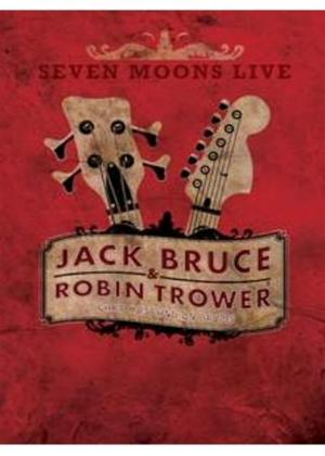 Rent Jack Bruce and Robin Trower: Seven Moons Live Online DVD Rental