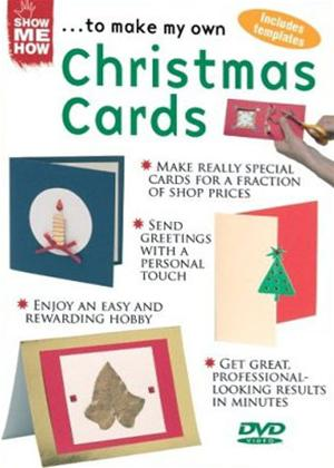 Rent Show Me How: Christmas Cards Online DVD Rental