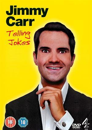 Rent Jimmy Carr Telling Jokes Online DVD Rental
