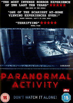 Paranormal Activity Online DVD Rental