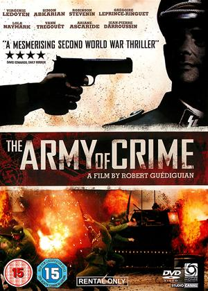 Rent The Army of Crime (aka L'Armee du crime) Online DVD Rental