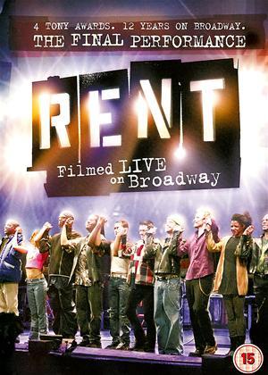 Rent Rent: Filmed Live on Broadway Online DVD Rental