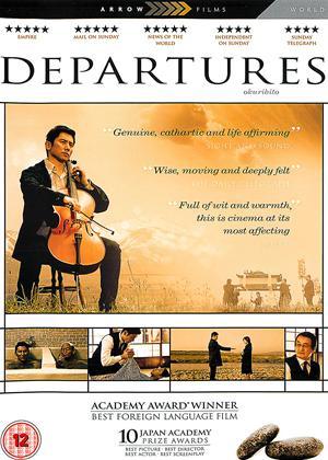 Departures Online DVD Rental