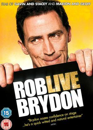 Rent Rob Brydon Live: Annually Retentive Online DVD & Blu-ray Rental