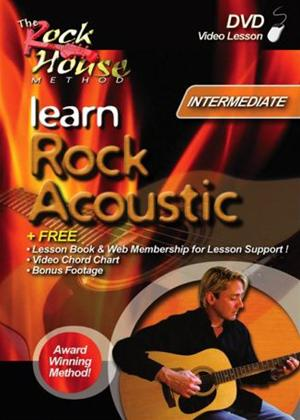 Rent Learn Rock Acoustic: Intermediate Online DVD Rental