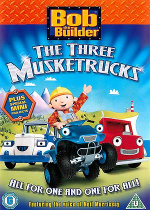 Rent Bob The Builder: The Three Musketrucks Online DVD & Blu-ray Rental