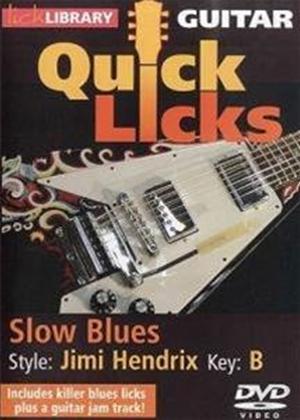 Rent Lick Library: Quick Licks: Jimi Hendrix Online DVD Rental