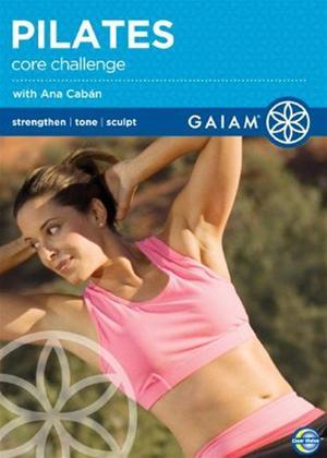 Rent Gaiam: Pilates Core Challenge Online DVD Rental