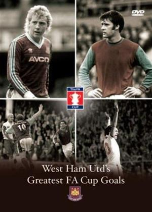 Rent West Ham United: Greatest FA Cup Goals Online DVD Rental