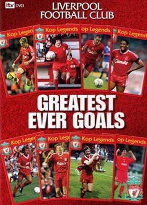 Rent Liverpool's Greatest Ever Goals Online DVD Rental