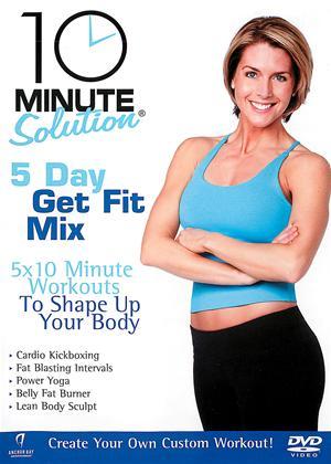 Rent 10 Minute Solution: 5 Day Get Fit Mix Online DVD Rental