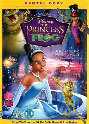Princess and the Frog Online DVD Rental