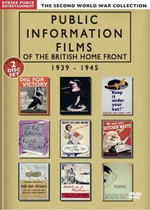 Rent Public Information Films of the British Home Front 1939-1945 Online DVD Rental