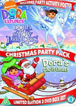 Rent Dora the Explorer: Dora's Christmas Party Online DVD Rental
