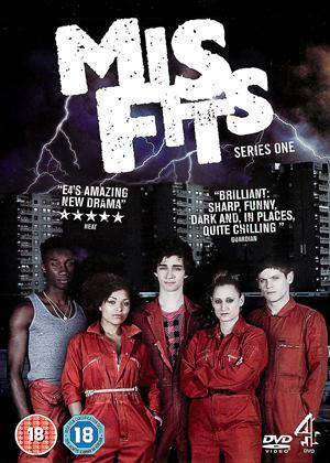 Rent Misfits: Series 1 Online DVD Rental