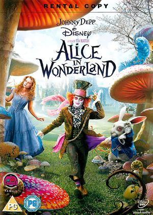 Rent Alice in Wonderland Online DVD & Blu-ray Rental