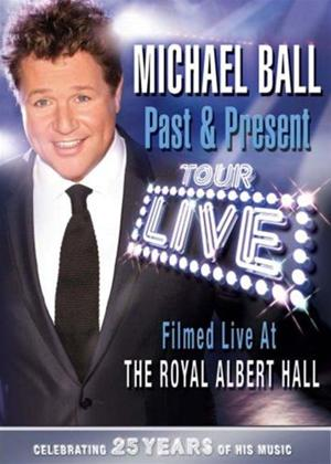 Rent Michael Ball: Past and Present: 25th Anniversary Tour Online DVD Rental