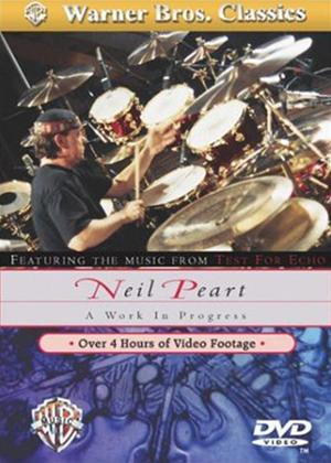 Rent Neil Peart: A Work in Progress Online DVD Rental