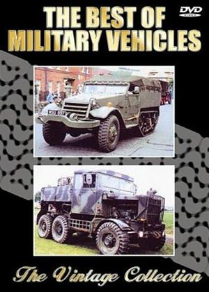 Rent The Best of Military Vehicles Online DVD Rental