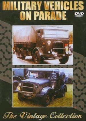 Rent Military Vehicles on Parade Online DVD Rental