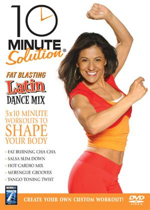 Rent 10 Minute Solution: Fat Blasting Latin Dance Mix Online DVD Rental