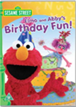Rent Elmo and Abby's Birthday Fun Online DVD Rental