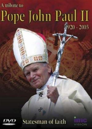 Rent Pope John Paul II: Statesman of Faith Online DVD Rental