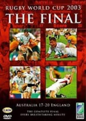 Rent Rugby World Cup 2003: The Final Online DVD & Blu-ray Rental