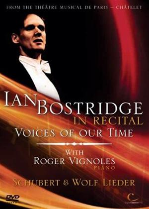 Rent Ian Bostridge in Recital: Voices of Our Time Online DVD Rental
