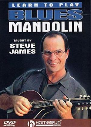Rent Steve James: Learn to Play Blues Mandolin Online DVD Rental