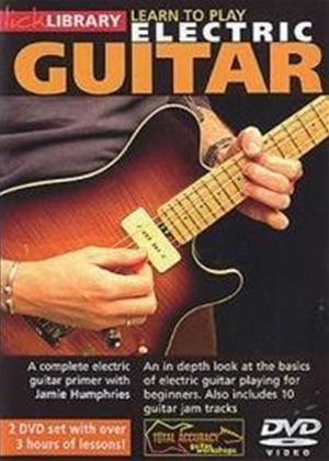 Rent Lick Library: Learn to Play Electric Guitar Online DVD Rental