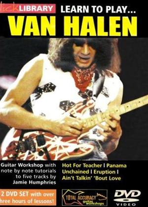 Rent Lick Library: Learn to Play Van Halen: Vol.1 Online DVD Rental