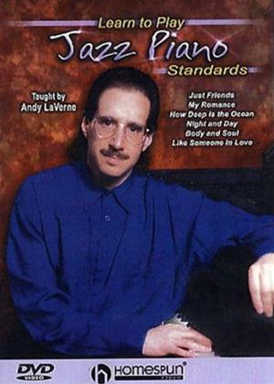 Rent Andy LaVerne: Learn to Play Jazz Piano Standards Online DVD Rental