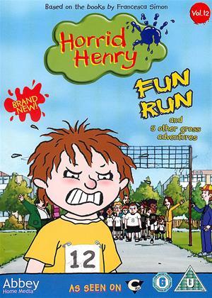 Rent Horrid Henry's Fun Run Online DVD Rental