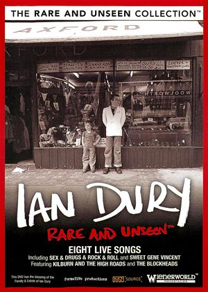 Rent Rare and Unseen: Ian Dury Online DVD Rental