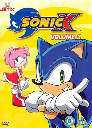 Rent Sonic X: Vol.3 Online DVD Rental